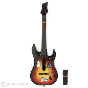 Gitarre / Guitar #sunburst Guitar Hero: World Tour Controller [Fender Stratocaster]