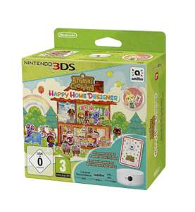 Animal Crossing: Happy Home Designer + 3DS NFC Reader/Writer + spezielle Amiibo Karte
