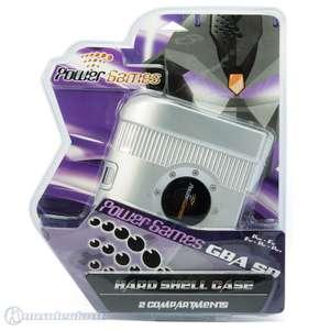 Tasche / Carry Case / Shell für GBA SP Konsole, Spiele & Zubehör #silber [Power Games]