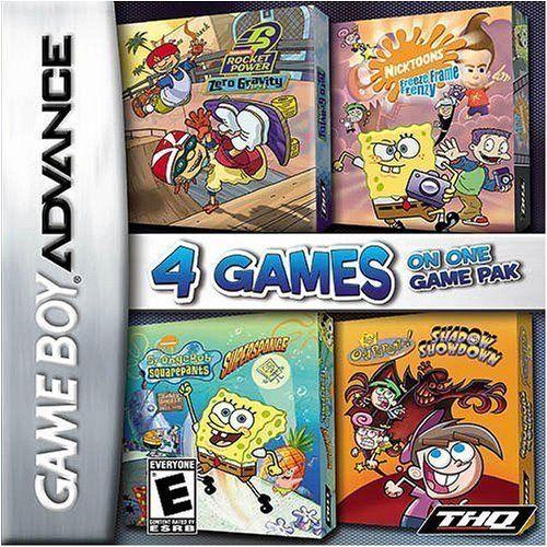 4 in 1 - Spongebob Supersponge + Nicktoons + Fairly Oddparents + Rocket Power