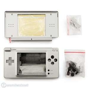 Gehäuse für DS Lite Konsole / Console System Shell #silber / Metallic silver
