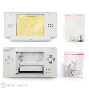 Gehäuse für DS Lite Konsole / Console System Shell #weiß / Polar White