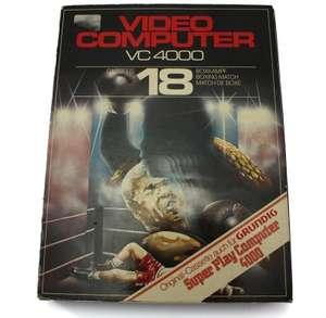 Cassette 18 - Boxkampf