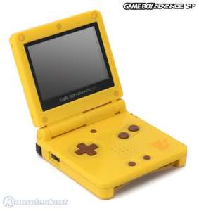 Konsole GBA SP inkl. Netzteil #Toys Limited Edition Pikachu