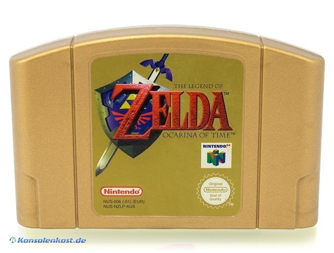 The Legend of Zelda: Ocarina of Time #Collector's Edition