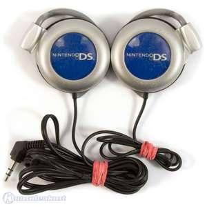 Original Kopfhörer / Headset #silber-blau [Nintendo]