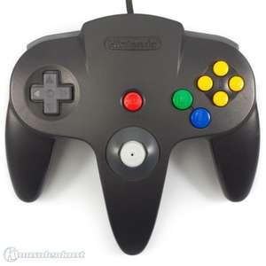 Original Nintendo Controller #schwarz NUS-005