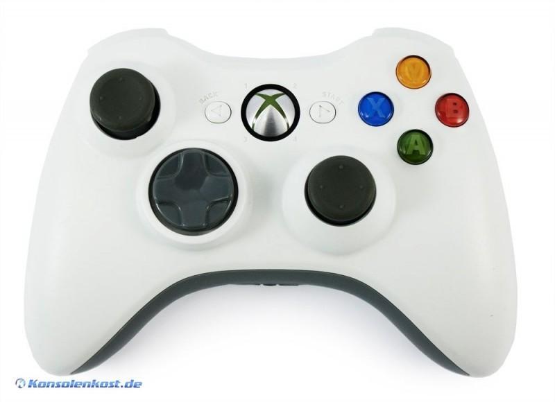 Xbox 360 - Original Wireless Controller #weiß [Microsoft]