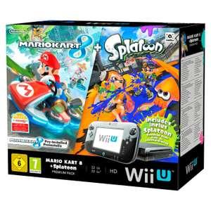 Konsole 32 GB #schwarz Mario Kart 8 Splatoon Premium Pak