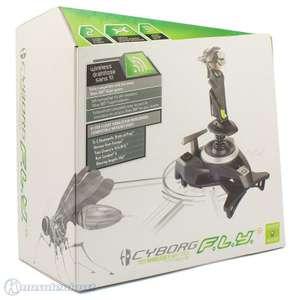 Wireless Flight Stick #grün-schwarz Cyborg F.L.Y. 9 [Mad Catz]