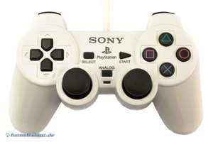 Original Dualshock 2 Controller / Pad SCPH-10010 #weiß [Sony]