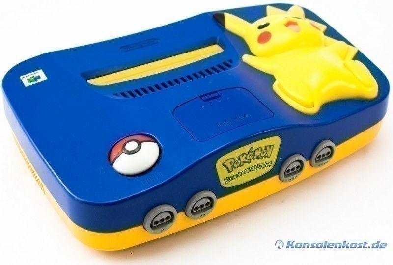 Konsole #Pikachu Edition