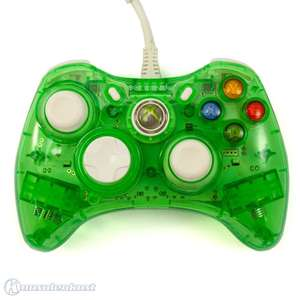 Wired Controller Rock Candy Mod #Clear-Green