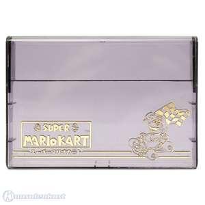 Original Crystal Case für Modul #Super Mario Kart [Nintendo]