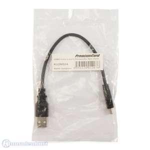 Ladekabel für Controller USB 2.0 auf Mini USB / 5 Pins / 20cm [Premium Cord]