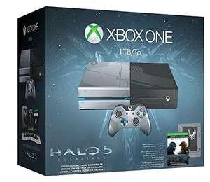 Konsole 1 TB #Halo 5 - Limited Edition + Original Controller & Zub.