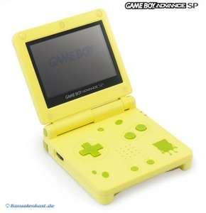 Konsole GBA SP #Spongebob Edition AGS-001 + Netzteil