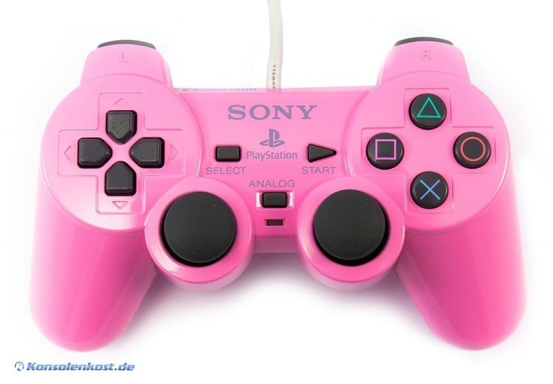 Original Sony Dualshock 2 Controller / Pad SCPH-10010 #pink