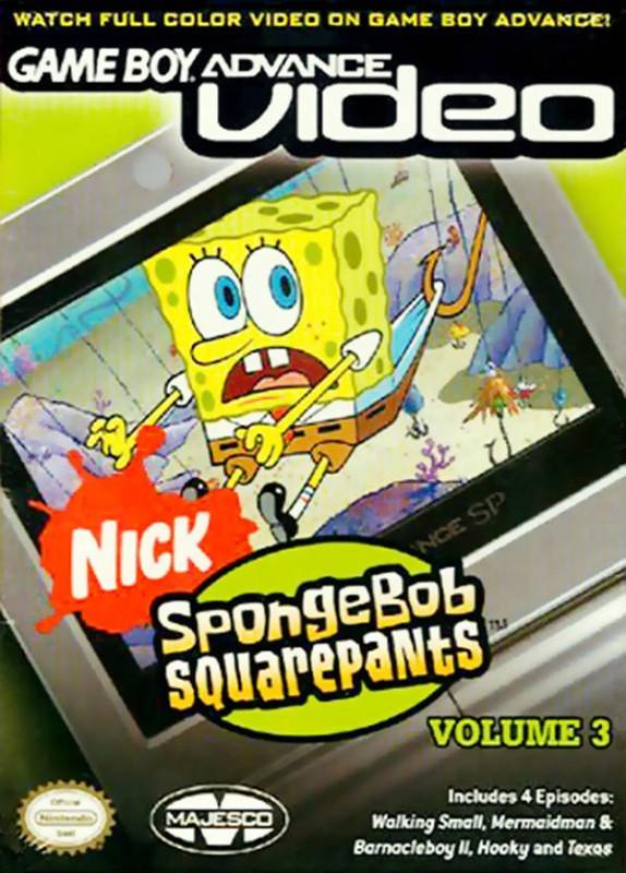 GBA Video: Spongebob Squarepants Volume 3