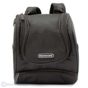 Original Tasche / Carry Case / Travel Bag / Mini Rucksack #schwarz [Nintendo]