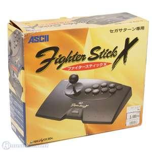 Arcade Stick #schwarz Fighter Stick X [Ascii]