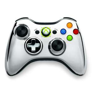 Original Wireless Controller #Chrome Silver / silber [Microsoft]