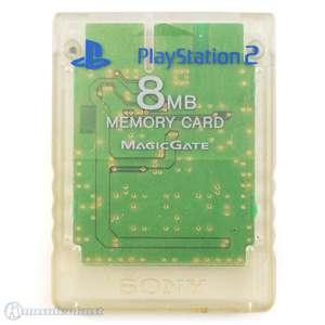 Original Sony Memory Card / Memorycard / Speicherkarte 8 MB #transparent