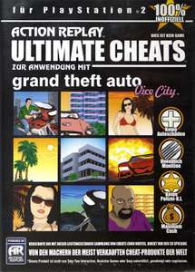 Action Replay - Ultimate Cheats: Grand Theft Auto / GTA: Vice City