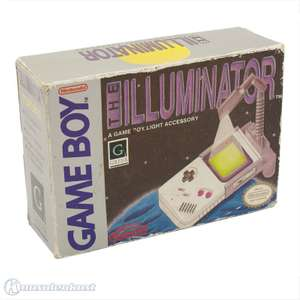 Original Flexi Licht / Rotating Light - The Illuminator [Nintendo]