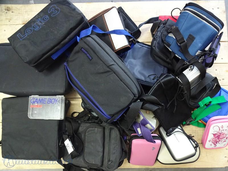 ca. 30 vers. Taschen & Cases für Gameboy