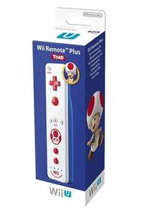 Original Remote Motion Plus Controller - Toad Edition
