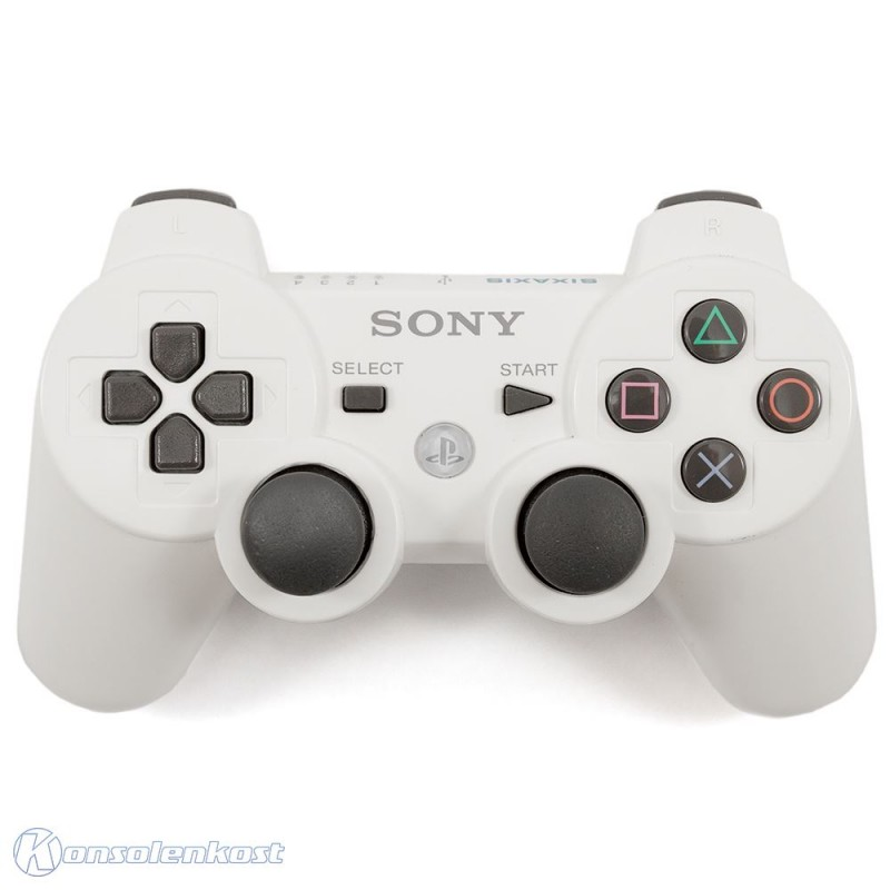 PS3 - Original Sixaxis Wireless Controller #weiß [Sony]