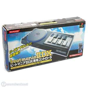 Turntable Controller #Beatmania II DX [Konami]