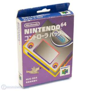 Original Controller Pak #grau NUS-004 [Nintendo]