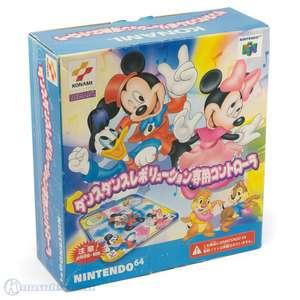 Tanzmatte / Dancing Mat #Disney Dance Dance Revolution Controller [Konami]
