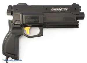 Original Virtua Gun / Lightgun / Pistole / Light Phaser HSS-0122 #schwarz [Sega]