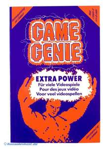 Game Genie Codebuch / Programming Manual & Codebook