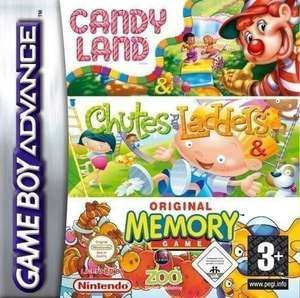 3 in 1: CandyLand + Chutes & Ladders + Memory
