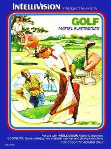 Intellivision - Golf