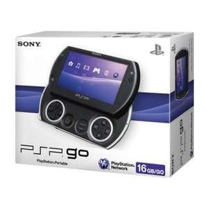 Konsole PSP GO #schwarz / Piano Black + Netzteil