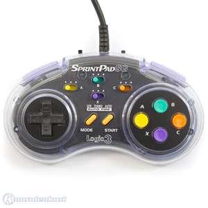 Controller / Pad #transparent SprintPad SG mit Turbo & Auto Fire [Logic 3]