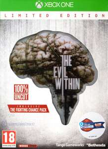 The Evil Within #Limited Edition + Tagebuch + 3D-Motivkarte