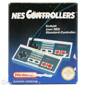 2 Original Nintendo Controller NES-004E