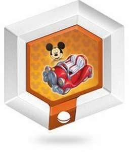 Bonus Münze / Power Disc - Vol.1 Nr. 5 Mickys Wagen / Mickey's Car