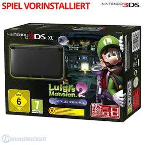 Konsole XL #Luigi's Mansion 2 Edition + Spiel + Netzteil