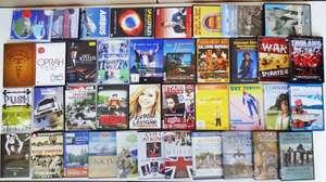 40 diverse DVD's: Dokus/Sport/Musik/Biografien etc.