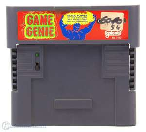 Game Genie Extra Power + Codebuch [galoob]
