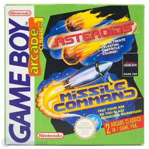 Arcade Classics 1: Asteroids Missile Command