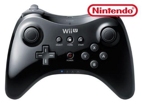 Wii U - Original Pro Controller / Pad #schwarz / WUP-005 [Nintendo]