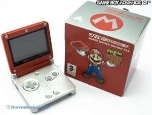 Konsole GBA SP #Mario vs. Donkey Kong + Spiel + Netzteil